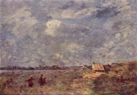 Jean Baptiste Camille Corot Wolken in der kunst clouds in art 580x404 Wolken in de kunst